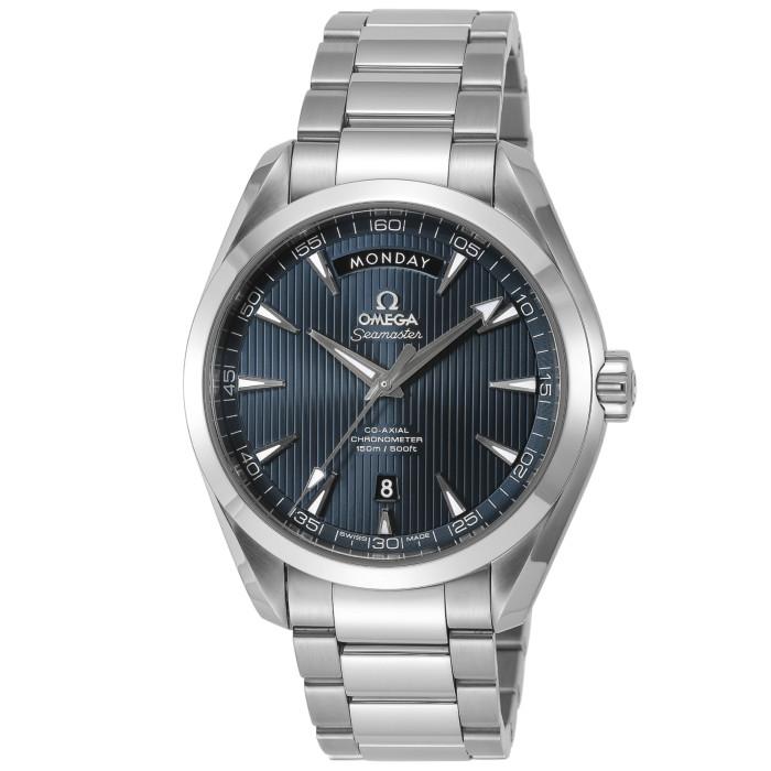 オメガ231.10.42.22.03.001メンズ腕時計シーマスターアクアテラ OMEGASeamasterAquaTerra男性おしゃれかっこいい高級ブランドシルバーブルー