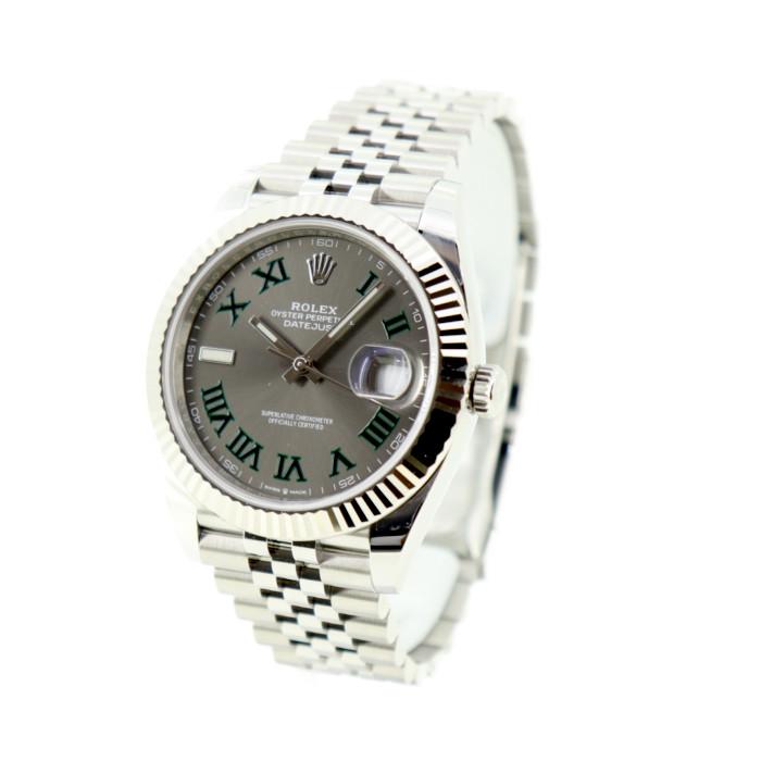 【カード決済不可・銀行振込のみ】ロレックスメンズ腕時計126334(900GY-GR-N【ROLEX】