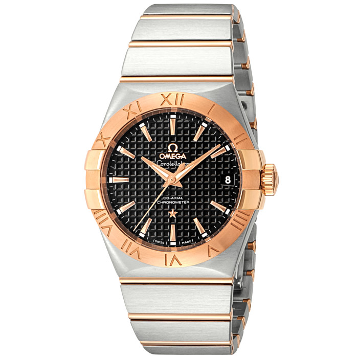 オメガ123.20.38.21.01.001メンズ腕時計コンステレーション|OMEGAConstellation男性おしゃれかっこいい高級ブランドレッドゴールドシルバーブラック