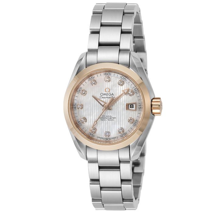 オメガ231.20.30.20.55.004レディース腕時計シーマスターアクアテラ
