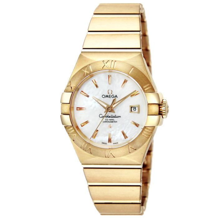 【お取り寄せ】オメガレディース腕時計123.50.31.20.05.002【OMEGA】キンムク
