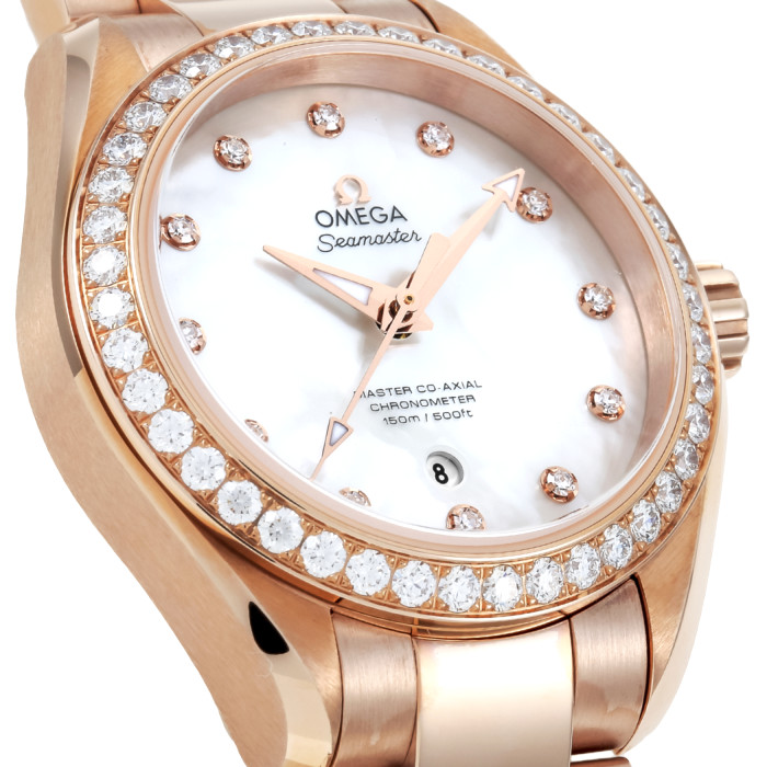 【お取り寄せ】オメガレディース腕時計231.55.34.20.55.003【OMEGA】キンムク