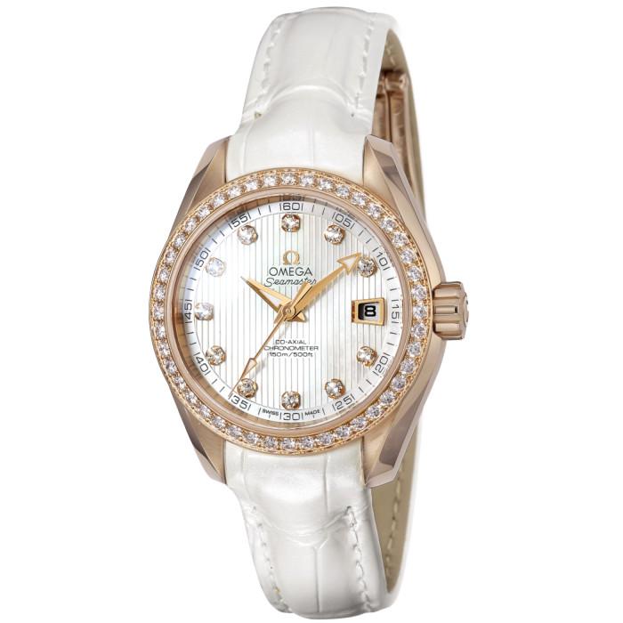 【お取り寄せ】オメガレディース腕時計231.58.30.20.55.001【OMEGA】キンムク
