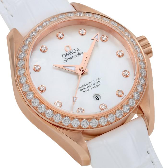 【お取り寄せ】オメガレディース腕時計231.58.34.20.55.003【OMEGA】キンムク