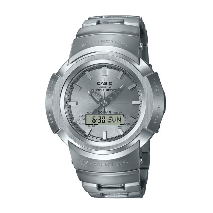 【送料無料!】カシオ G-SHOCK 紳士 時計 シルバー SI AWM-500D-1A8JF【CASIO】