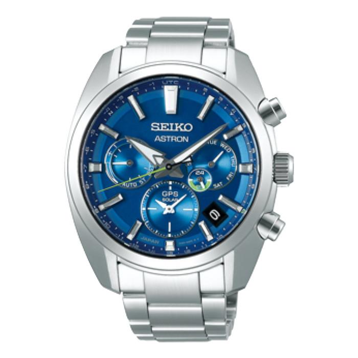 セイコー紳士時計SBXC055ブルーBLUE【SEIKO】