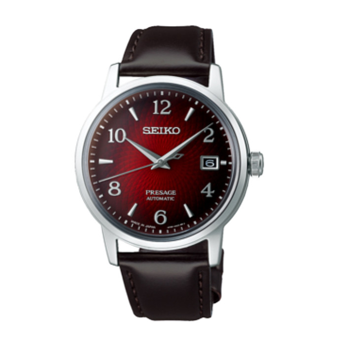 【送料無料!】セイコー 紳士 時計 SARY163  レッド RED 【SEIKO】