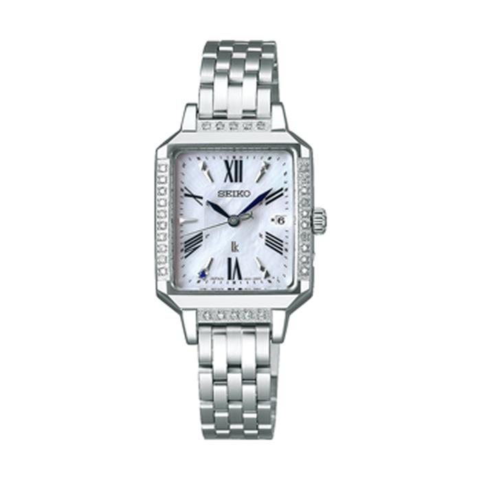セイコー 婦人 時計 SSVW175  ホワイト WH 【SEIKO】