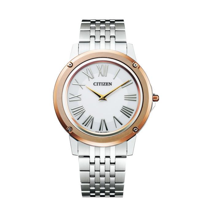 【送料無料!】シチズン 紳士 時計 AR5026-56A  ホワイト WHITE 【CITIZEN】