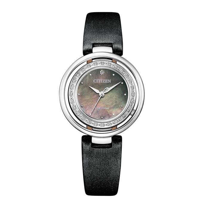 【送料無料!】シチズン L エル 婦人 時計 EM0900-08W  グレー(白蝶貝) MOP 【CITIZEN】