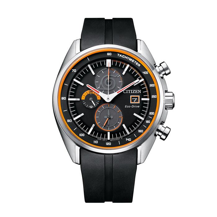 【送料無料!】NARUTOコラボ ナルトモデル シチズン 紳士 時計 CA0591-12E  ブラック BK 【CITIZEN】