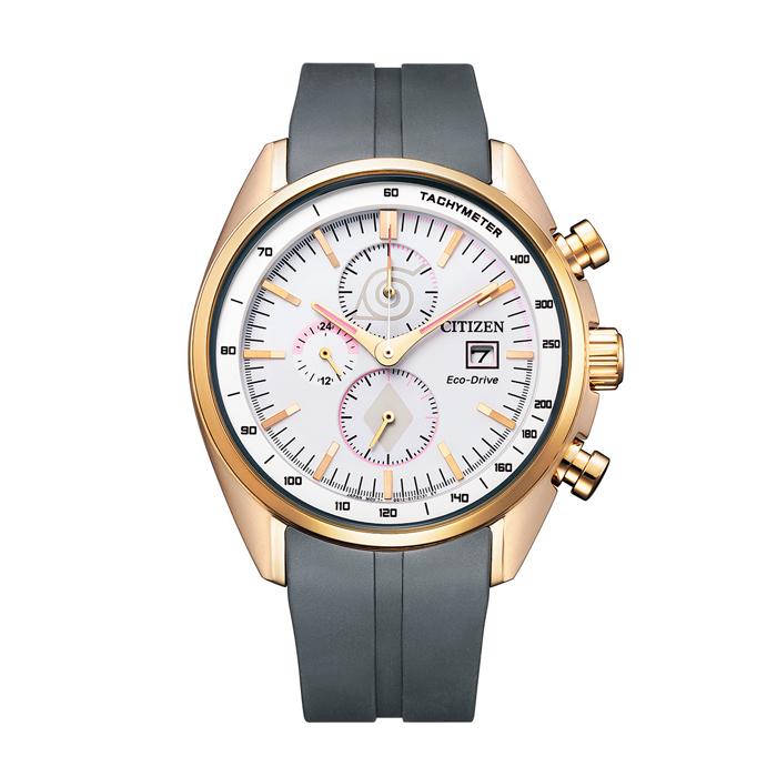 【送料無料!】NARUTOコラボ サクラモデル シチズン 紳士 時計 CA0593-17A  ホワイト WH 【CITIZEN】