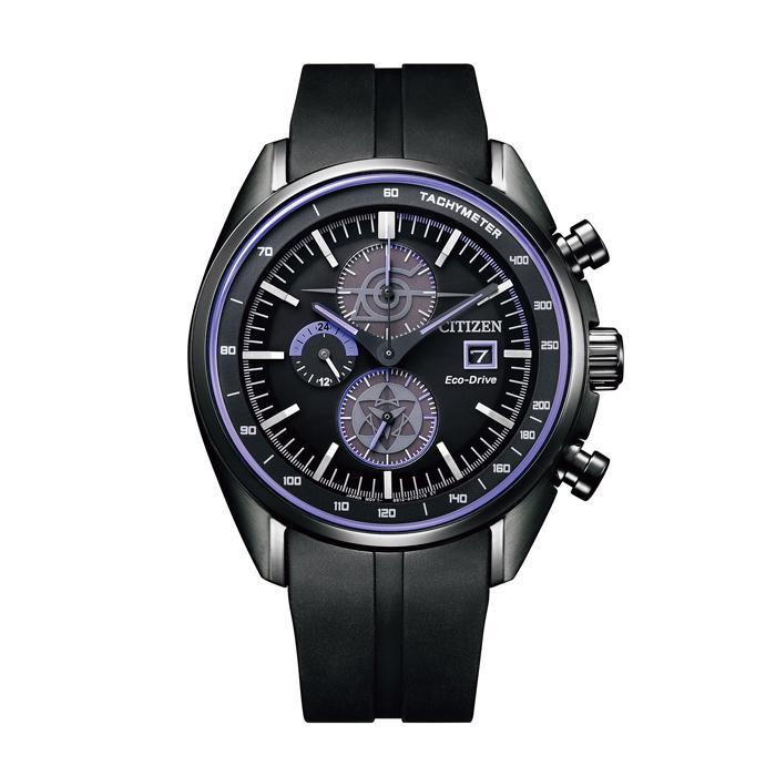 【送料無料!】NARUTOコラボ サスケモデル シチズン 紳士 時計 CA0597-16E  ブラック BK 【CITIZEN】