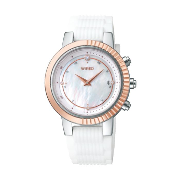 【送料無料!】セイコー 婦人 時計 AGEB401  ホワイト WHITE 【SEIKO】
