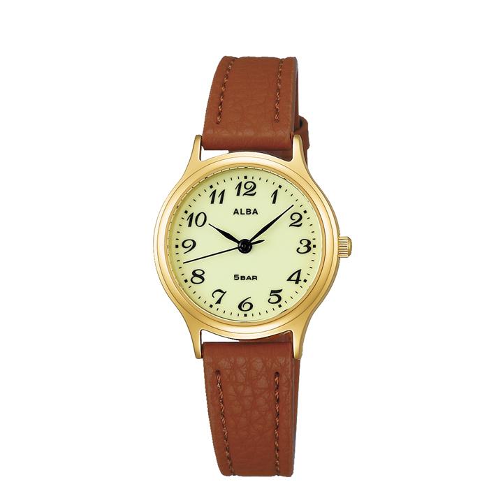 【送料無料!】セイコー 紳士 時計 AQHK441  ベージュ BE 【SEIKO】