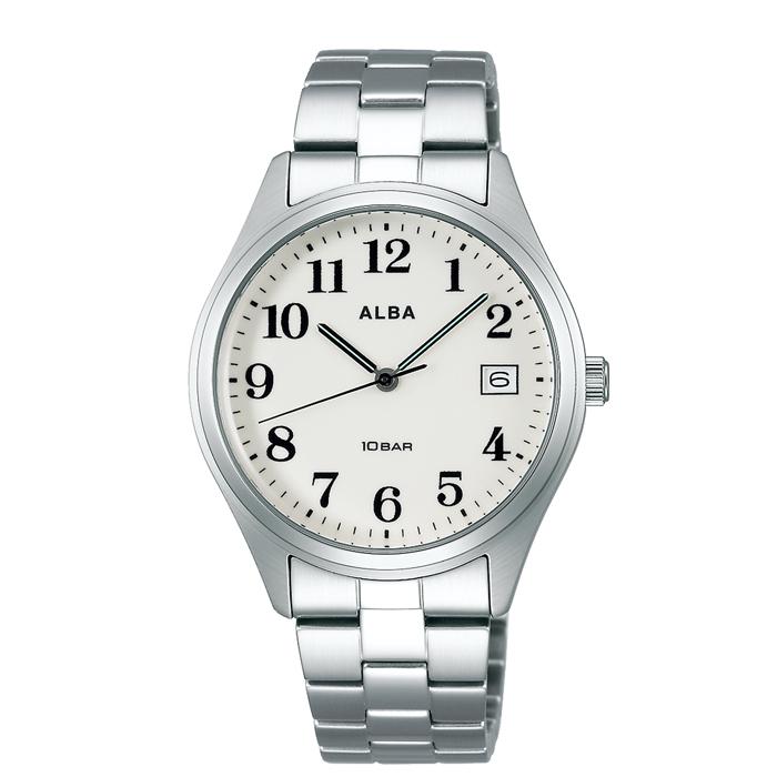 【送料無料!】セイコー 紳士 時計 AQGJ411  ホワイト WH 【SEIKO】