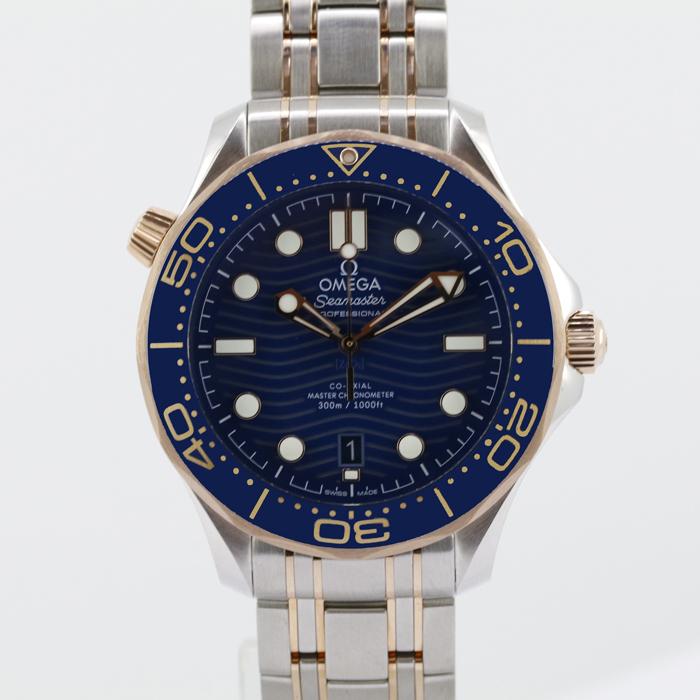 【送料無料!】オメガ 紳士 時計 210.20.42.20.03.002 ブルー BL 【OMEGA】