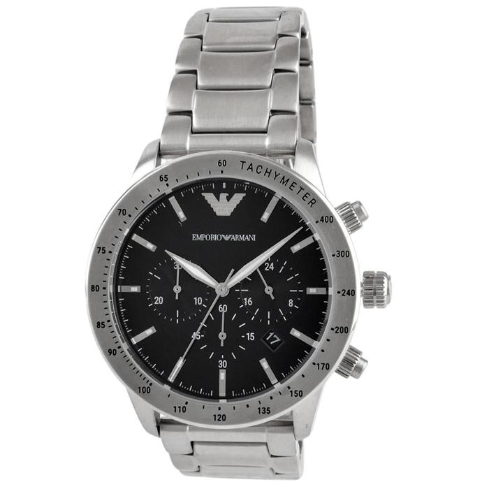 【送料無料!】エンポリオアルマーニ 紳士 時計 AR11241  ブラック BK 【EMPORIO ARMANI】