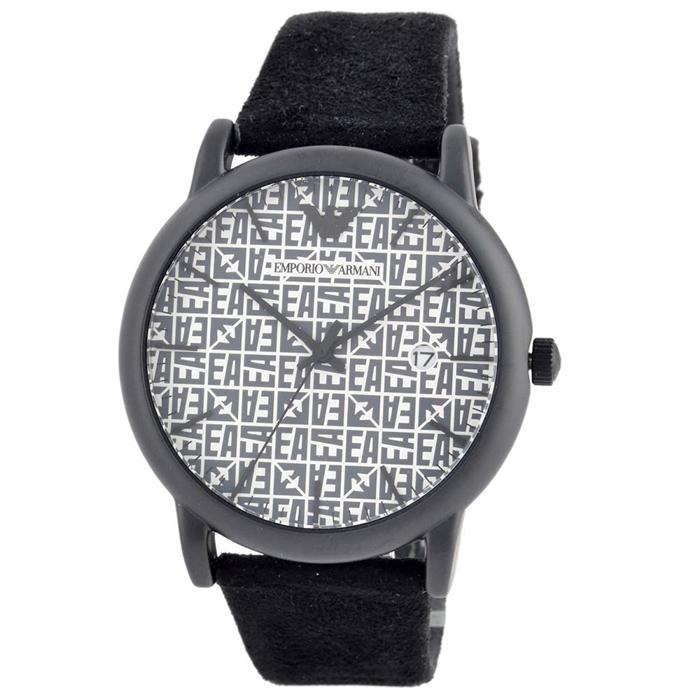 【送料無料!】エンポリオアルマーニ 紳士 時計 AR11274  ブラック&ホワイト BK/WH 【EMPORIO ARMANI】