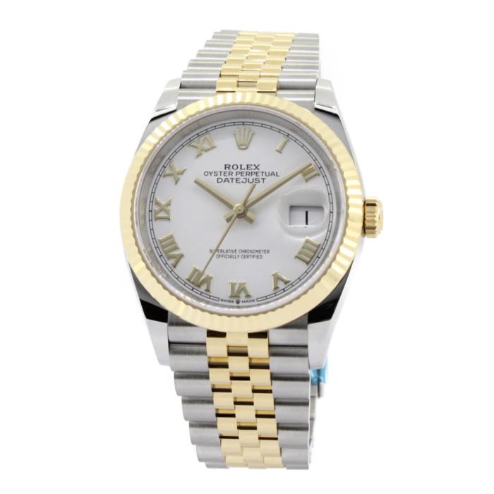 【カード決済不可・銀行振込のみ(振込手数料はお客様支払)】 ロレックス 126233  ホワイト WH メンズ 時計  【ROLEX】