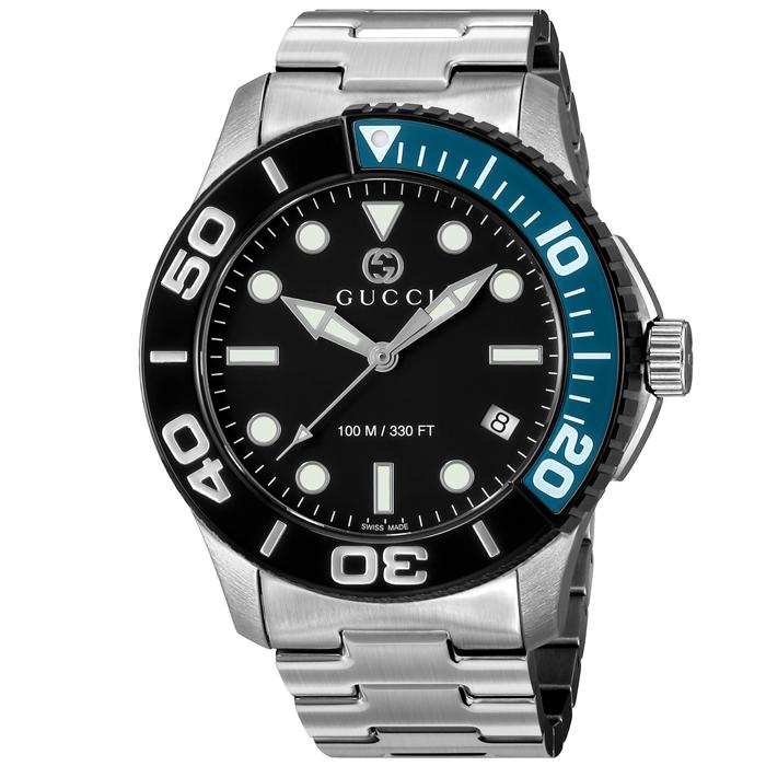 GUCCI グッチ Diver ダイバー メンズ ブラック YA126281