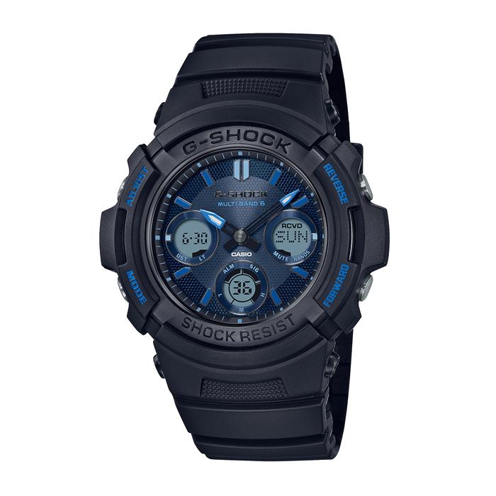 【送料無料!】カシオ G-SHOCK  AWG-M100SF-1A2JR  ブルー BL メンズ腕時計【CASIO】