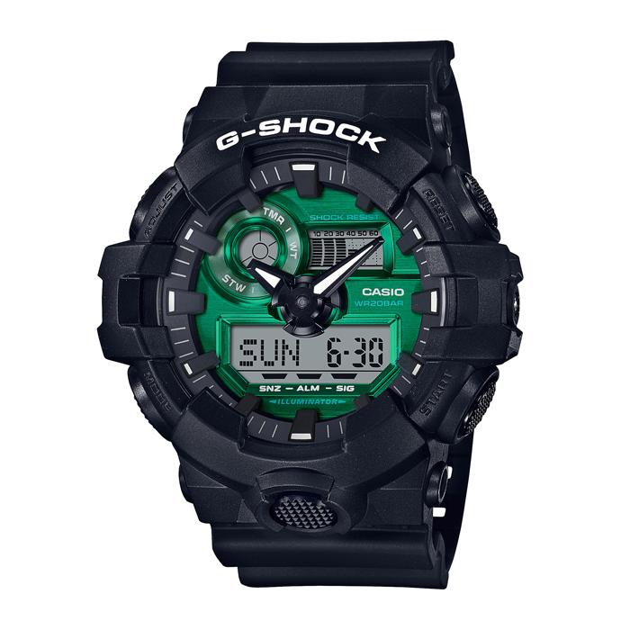 【送料無料!】カシオ G-SHOCK GA-700MG-1AJF  グリーン GR メンズ時計 【CASIO】