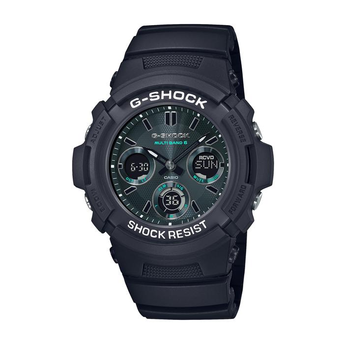 【送料無料!】カシオ G-SHOCK AWG-M100SMG-1AJF  グリーン GR メンズ時計 【CASIO】