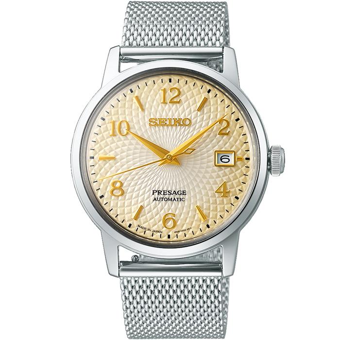 【送料無料!】セイコー プレザージュ SARY177 メンズ 時計   ホワイト WH 【SEIKO】
