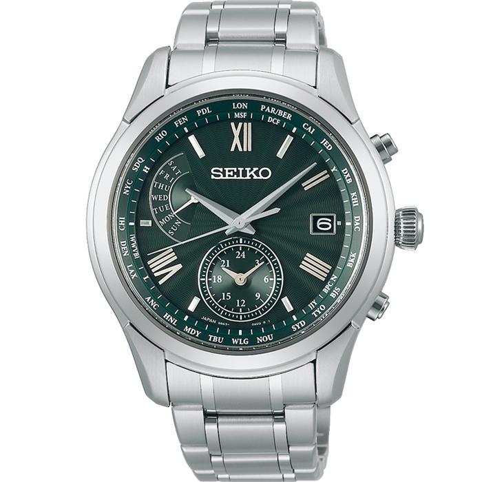 【送料無料!】セイコー ブライツ SAGA307 メンズ 時計   グリーン GR 【SEIKO】
