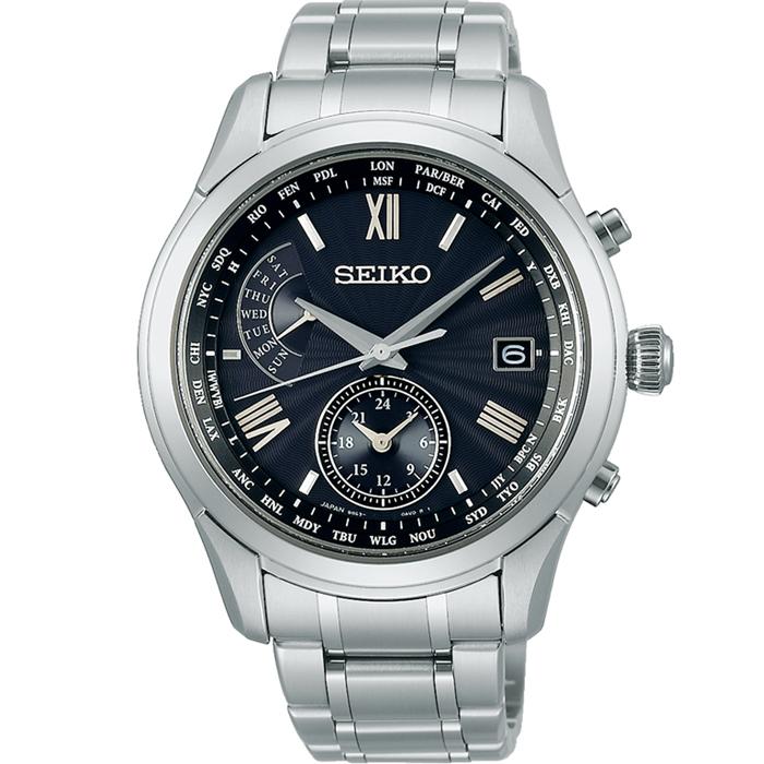 【送料無料!】セイコー ブライツ SAGA309 メンズ 時計   ブラック BK 【SEIKO】