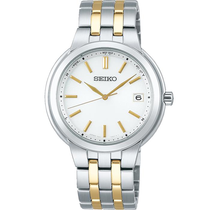 【送料無料!】セイコー  SELECTION セレクション SBTM285 ホワイト WH メンズ時計 【SEIKO】