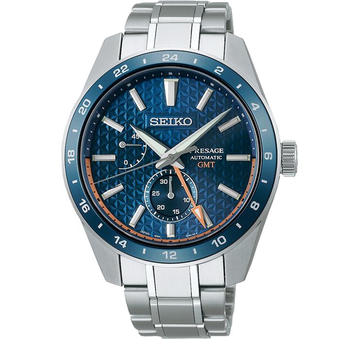 【送料無料!】セイコー PRESAGE プレザージュ SARF001 ネイビー NV メンズ腕時計 【SEIKO】