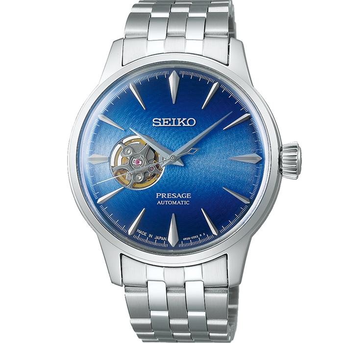 【送料無料!】セイコー PRESAGE プレザージュ SARY199 ブルー BL メンズ腕時計 【SEIKO】
