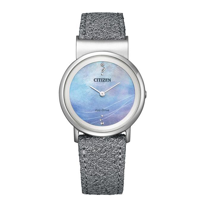 【送料無料!】シチズン L エル EG7071-03L  ブルー BL レディース時計 【CITIZEN】