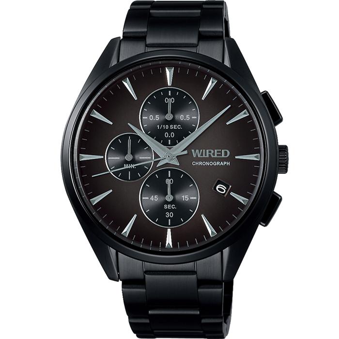 【送料無料!】セイコー ワイアード AGAT441 メンズ 時計   ブラック BK 【SEIKO】