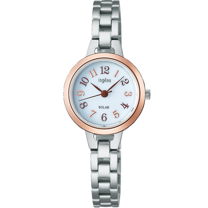【送料無料!】セイコー ALBA アルバ ingenu アンジェ―ヌ AHJD426 ホワイト WH レディース腕時計 【SEIKO】