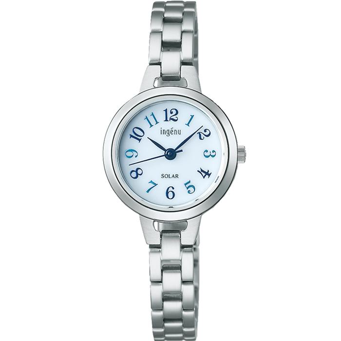 【送料無料!】セイコー ALBA アルバ ingenu アンジェ―ヌ AHJD428 ホワイト WH レディース腕時計 【SEIKO】