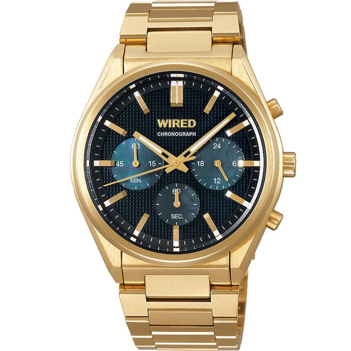 【送料無料!】セイコー ALBA アルバ WIRED ワイアード AGAT442 ブラック BK メンズ腕時計 【SEIKO】