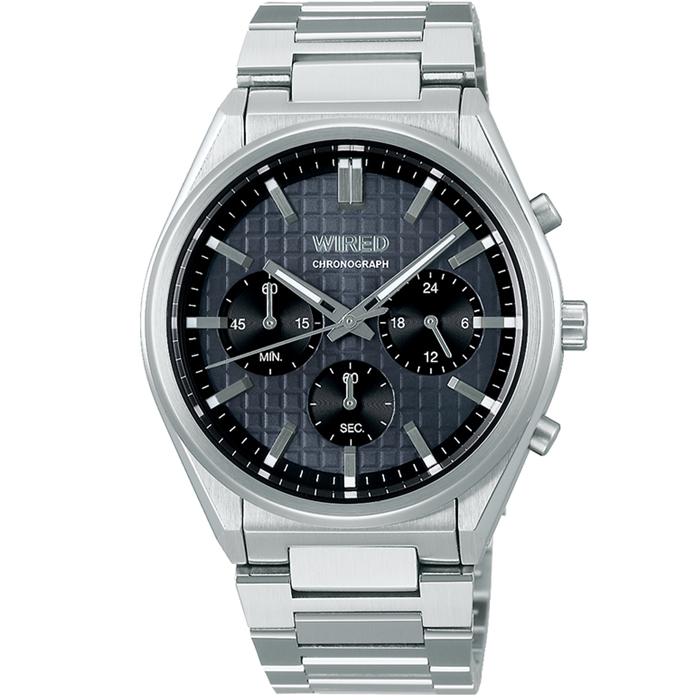 【送料無料!】セイコー ALBA アルバ WIRED ワイアード AGAT445 グレー GY メンズ腕時計 【SEIKO】