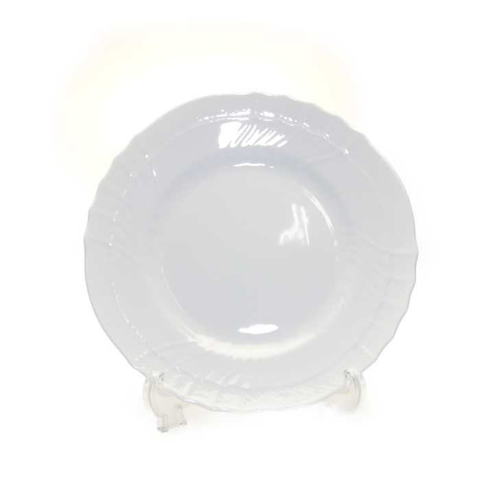 リチャードジノリ ベッキオ・ホワイト プレート21.5CM