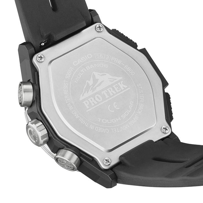 【送料無料】カシオ PRO TREK プロトレック PRW-6800-1JF メンズ腕時計 【CASIO】